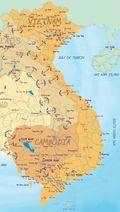 Cartina vietnam