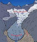 Schema ghiacciaio