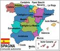 Cartina spagna