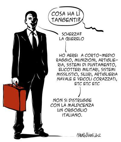 Finmeccanica-tangenti